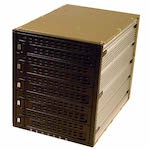 Корзина MOBILE RACK METALL SCA SNT BS-3051 5 HDD 80pin занимает 3*5.25