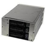 Корзина MOBILE RACK IDE METALL BA-2231 3 HDD занимает 2*5.25+FAN (BEIGE) W/DOOR