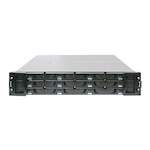 INFORTREND ES A12E-G2121-25 12-Bay 2U ISCSI-TO-SATA II 512Mb cache/2*1GB ETHERNET