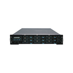 INFORTREND Eon S12FR-1420-M5 12-Bay 2U SAS/SATA-TO-FC 512Mb cache/BBU/2 FC-4G PORT/ASIC266/REDUNDANT