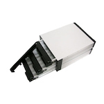 Корзина MOBILE RACK METALL SCA SI-0239C 3 HDD 80pin занимает 2*5.25