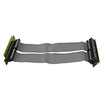 Ризер 1U PCI-express x16 Single Slot Flex Riser Card  на шлейфе 10см, NR-RC16xF