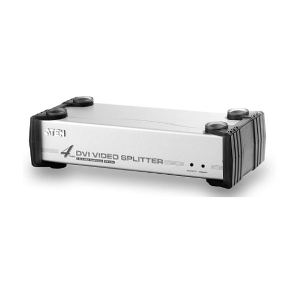 Видео разветвитель DVI 1 --- 4 монитора VS-164 VIDEO SPLITTER DVI (1600x1200), (мод.VS164), Aten