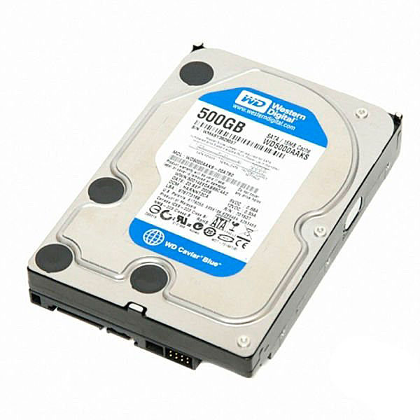 Жесткий диск HDD SATA II 500 Gb Western Digital WD5000AAKX 7200 RPM/16MB